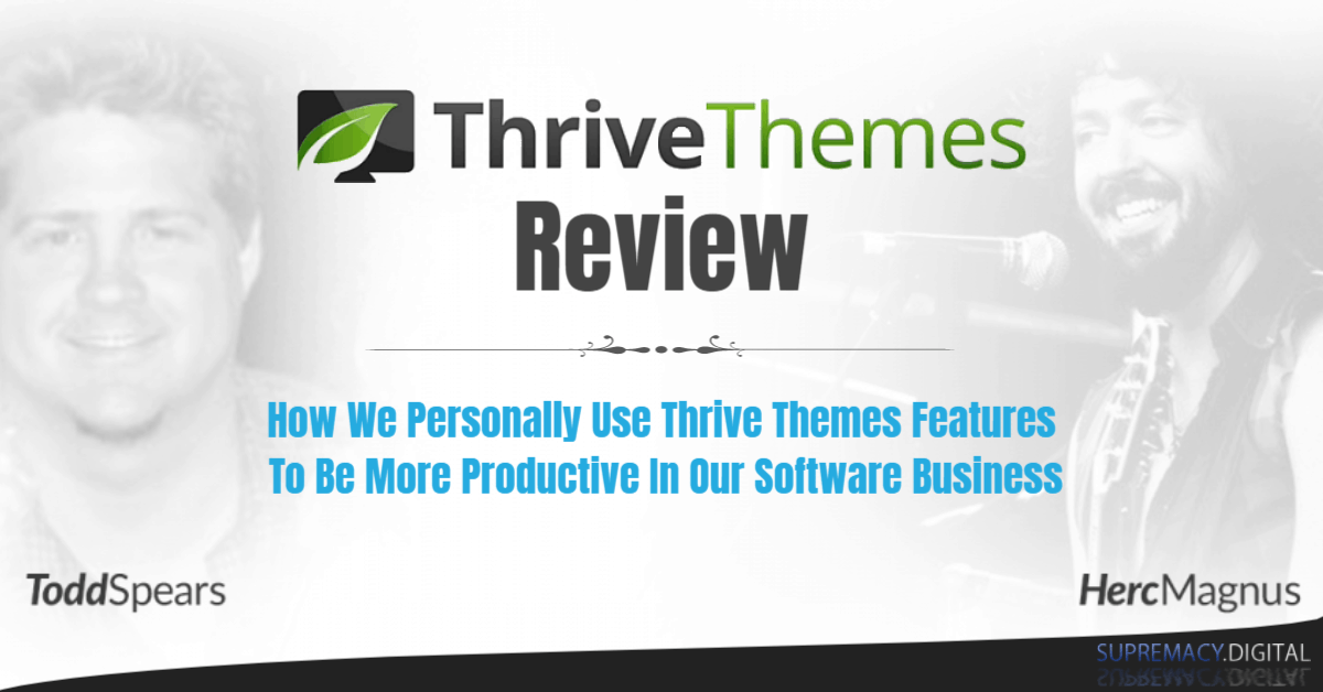 WordPress Themes Thrive Themes Review On Youtube
